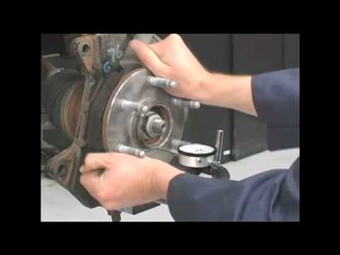 Automotive Repair:  Hub Bearing Inspection and Replacement, July 2012 The Trainer