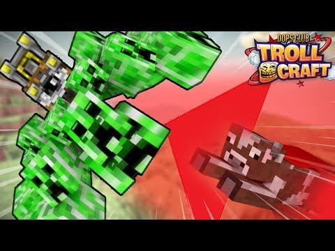 CREEPER NGOÀI HÀNH TINH! (Minecraft TrollCraft tập 1)
