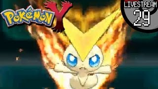 Pokemon X And Y Livestream #29: Victini, Eeveelution