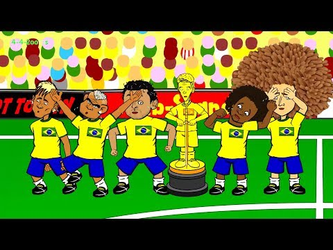 BRAZIL v MEXICO 0-0 by 442oons (Brazil crying during national anthem 17.6.14)