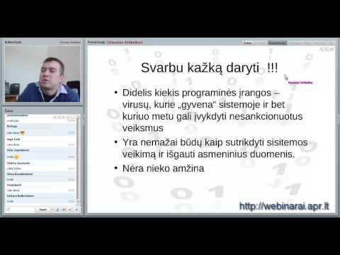 2013.01.17 Donatas Srėbalius. Asmeninių duomenų apsauga (ištrauka)