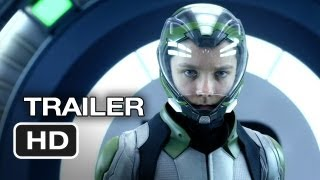 Hao123-Ender's Game Official Trailer #2 (2013) - Asa Butterfield, Harrison Ford Movie HD