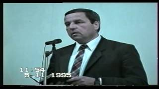 Служение в церкви ЕХБ 1995 г.Артём