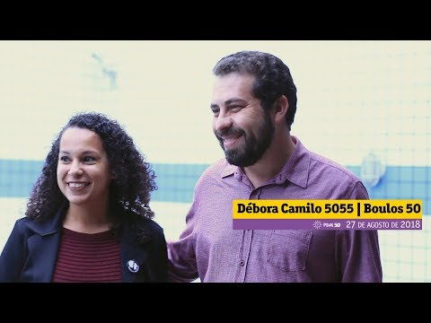[Débora Camilo 5055 e Guilherme Boulos 50]