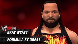 WWE 2K14: Bray Wyatt CAW Formula By Dre41
