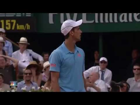 djokovic angry on new coach boris becker.french open final 2014