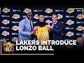 Lonzo Ball s Lakers Introductory Press Conference IN FULL