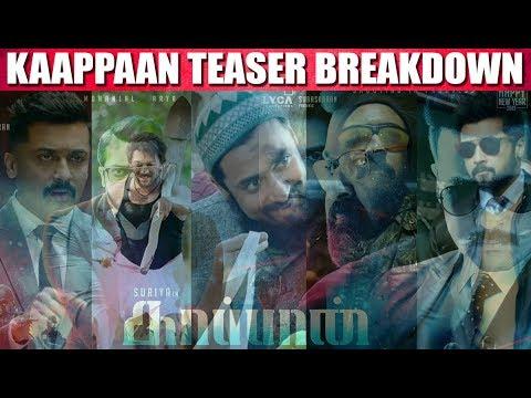 Kaappaan Teaser Breakdown - Suriya - Sayyeshaa - VJSindhuja - CinebillaTV