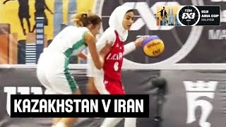 FIBA 3x3 Asia Cup U-18 among women's teams 2018 - Group stage: Kazakhstan - Iran
