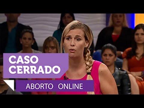 Caso Cerrado | Aborto online | Entretenimiento