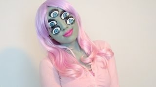 Promise Phan – Monsters Inc Inspired Make-up (Halloween 2013)