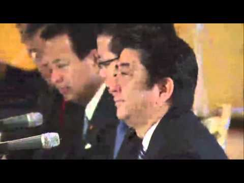 Obama-Abe Talks About Asia-Pacific Security