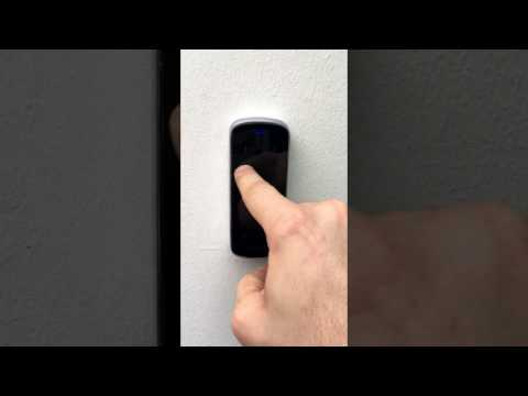 M3 controllo accessi per esterno IP65 apertura con codice PIN