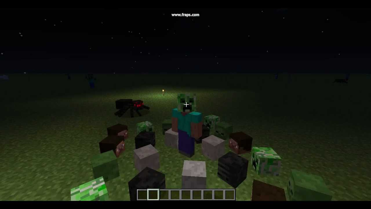 Minecraft all monsters