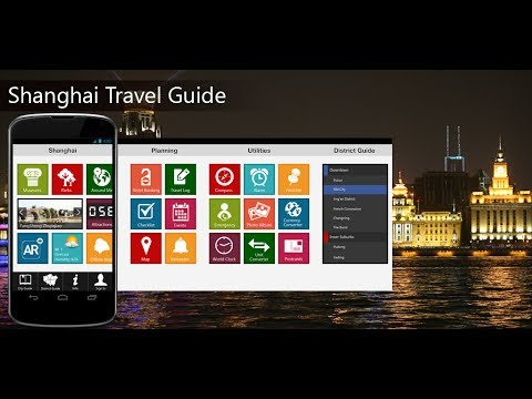 Shanghai Travel Android App Promo - Pangea Guides