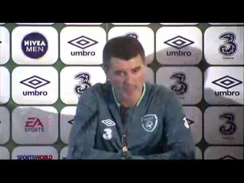 Republic of Ireland v Latvia - Pre Match Press Conference - Roy Keane (13/11/13)