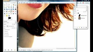 Gimp How To CUT OUT HAIR In Less Than 5 Minutes / REMOVE