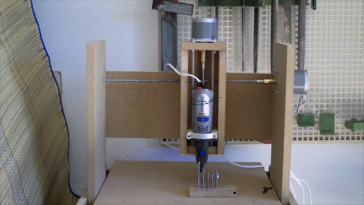 Manual CNC Fresadora Casera Como Hacer Una A