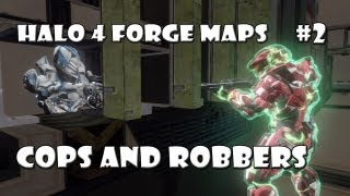 Halo 4 Forge Maps: Cops And Robbers Prison Break I