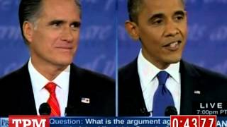 2012 Presidential Debate in 100 Seconds: The Mile High Debate