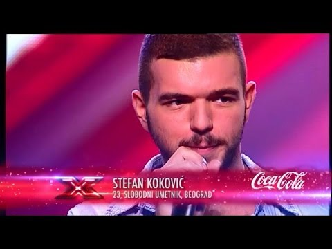 Stefan Koković (Baila Morena - Zucchero) audicija - X Factor Adria - Sezona 1
