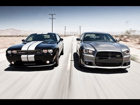 Track Tested: 2012 Dodge Charger SRT8 vs 2011 Dodge Challenger SRT8 392 - Inside Line