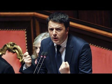Matteo Renzi new Italian PM after winning Senate vote