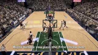 NBA 2K14 PS4 Alley Oops In The Park/Self Alley Oop