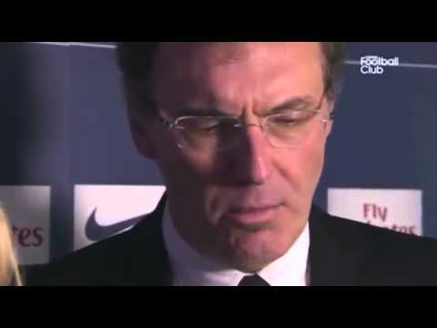 Laurent Blanc troublé par une journaliste