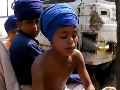 Young Nihang Singh Bole part 1