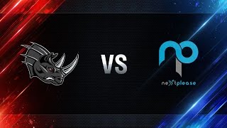 Nashorn vs NextPlease - day 1 week 6 Season I Gold Series WGL RU 2016/17