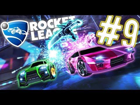 Rocket League #9| Those Big Ball Skills! |