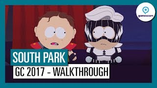 South Park: The Fractured but Whole - Gamescom 2017 Játékmenet
