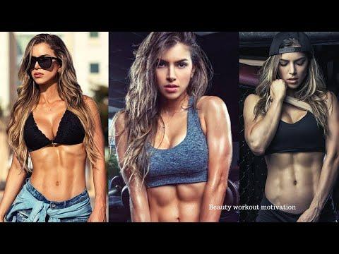 Anllela sagra fitness model workout Motivation | Female bodybuilding | Female Bikini body workout |