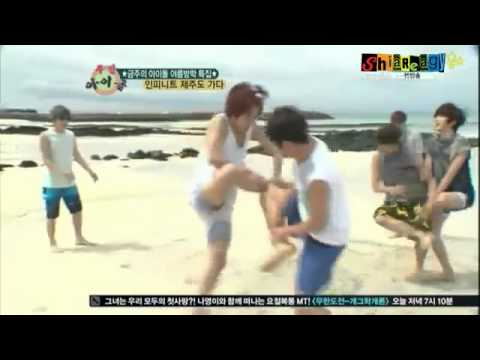 INFINITE funny 'Chicken Fight' (eng subs)
