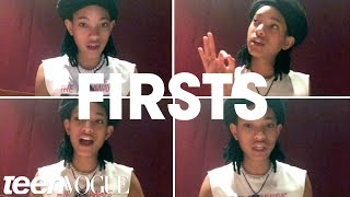 """Willow Smith Shares Her """"Firsts"""" With Teen Vogue"""