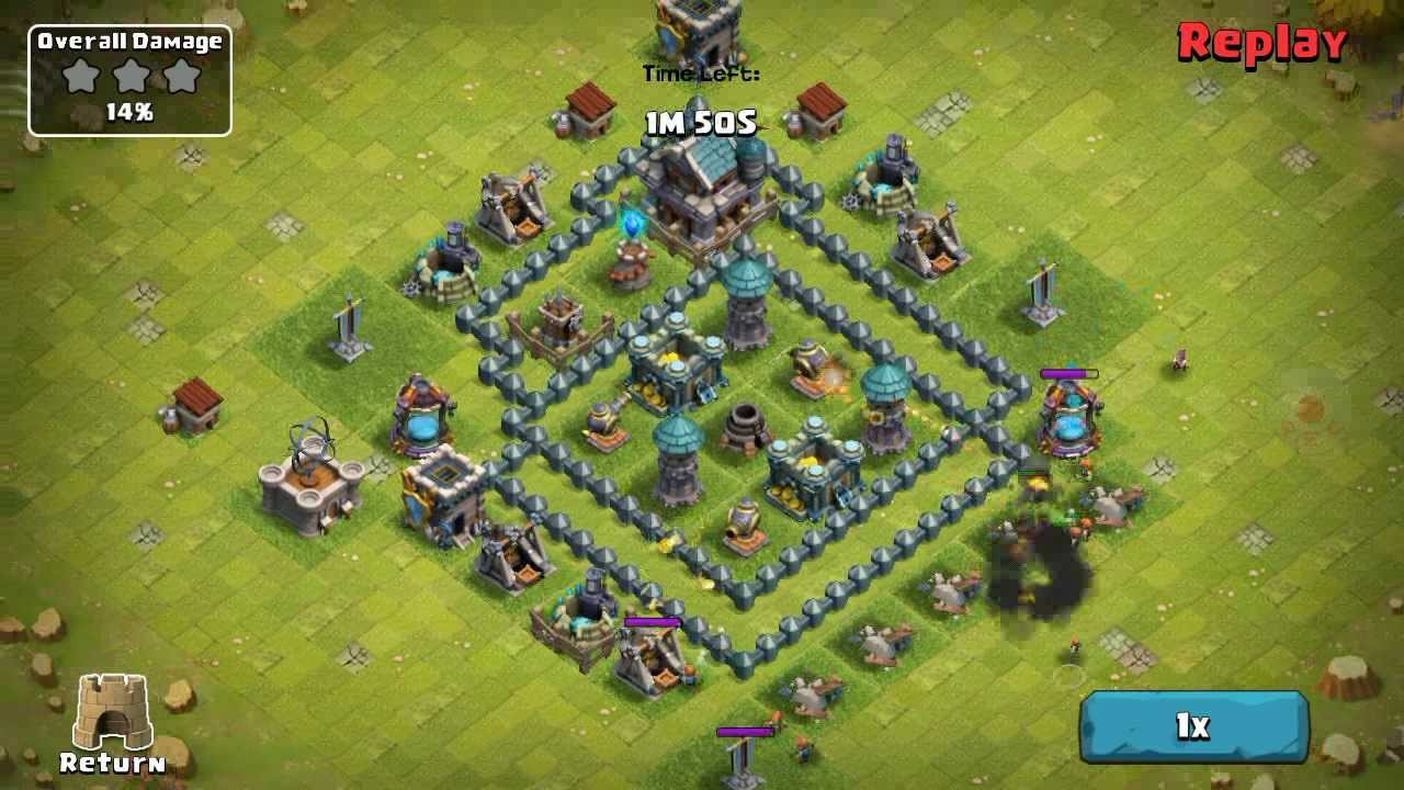 Clash of clans th4 th5 trophy base apps directories