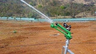 Vedant Raingun Irrigation Sprinkler India Pioneer Italian