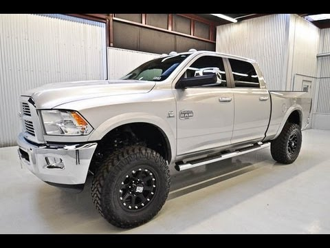 Lifted 2012 Dodge Ram 2500 Longhorn For Sale In Houston