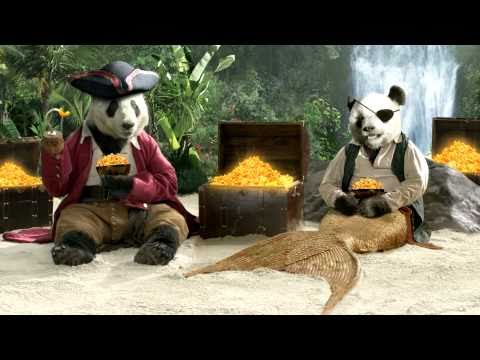 Panda Express Golden Treasure Shrimp Commercial - &quot;Enchanted Island&quot;