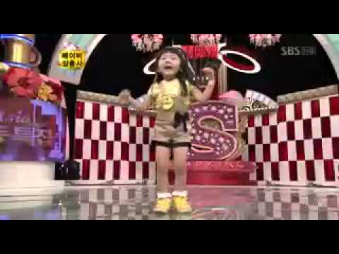 YouTube   08 08 30 Star King   Little Girl Dance