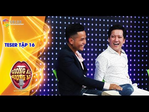 Giọng ải giọng ai | teaser tập 16: Phạm Hồng Phước đỏ mặt khi ngồi kế Trường Giang