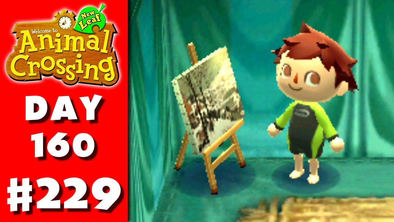 Animal crossing new leaf part 229 scenic painting for Animal crossing mural