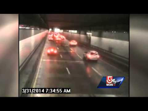 Caught on tape: 19 cars in O'Neill Tunnel crashes