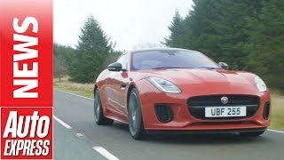 Jaguar F-Type 2.0T arrives with 4-cylinder power.. Auto Express.