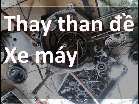 mạch đề xe máy & thay than đề xe máy