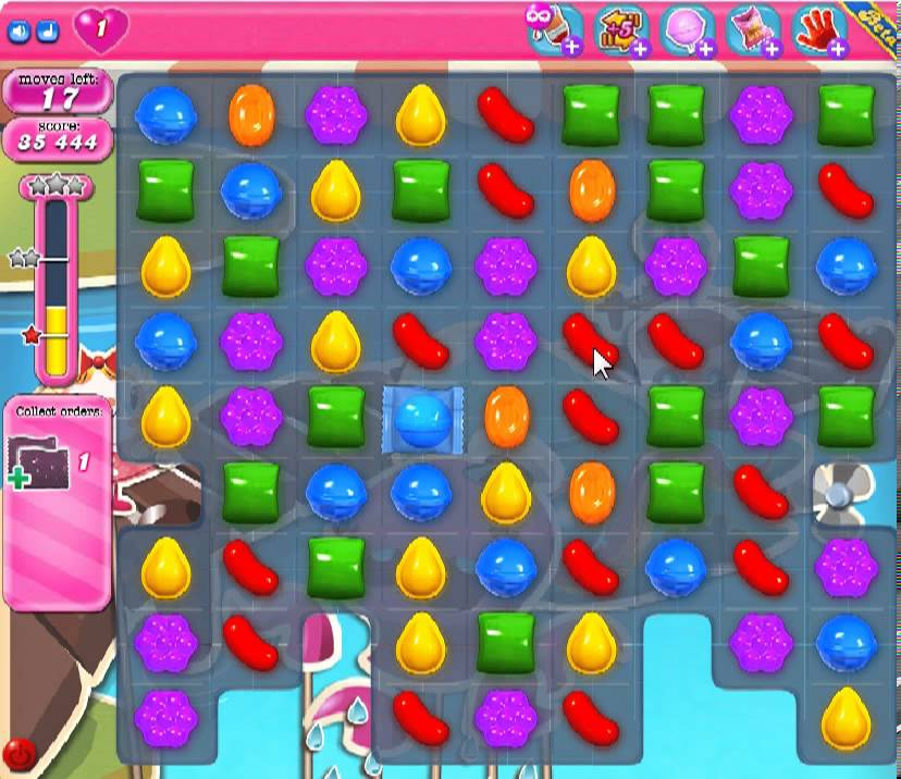 How To Past Level 135 On Candy Crush