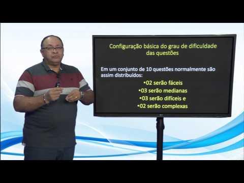 Dicas Vivaldo Pereira - Configura��o b�sica do grau de dificuldade das quest�es