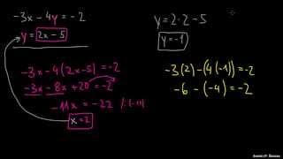 Vaja – dve enačbi dve neznanki