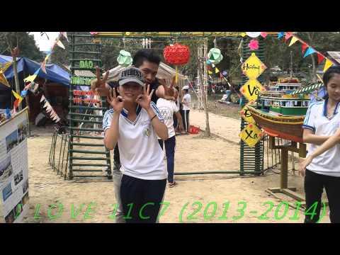 những hình ảnh của tâp thể 11c7 ở buổi cắm trại ngày 9-10/01/2014 ở trường THPT Tánh Linh